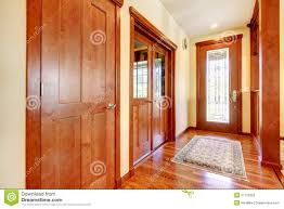 entrance hallway in modern house stock photo image 45108977