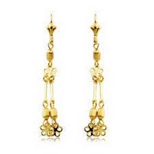 cercei de aur cercei lungi placati cu aur galben si alb bijuterii ieftine din