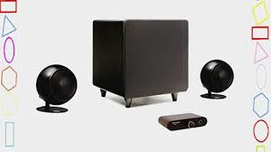 orb audio mini 2 1 complete stereo speaker system video dailymotion