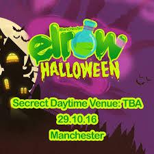 elrow halloween tickets secret venue manchester sat 29th