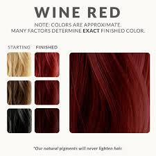 Wash Away Hair Color Wine Red Henna Hair Dye U2013 Henna Color Lab U2013 Henna Hair Dye