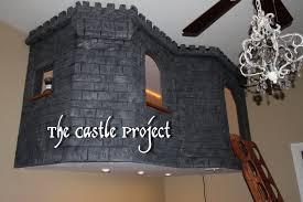 Castle Bedroom Furniture Bedroom Low Loft Bed With Desk Princess Bunk Beds Canada Bunk