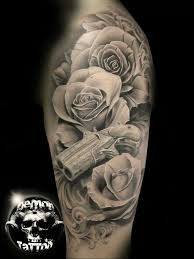 gun tattoos and designs page 75