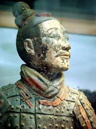 color painted terra cotta soliders china pictures