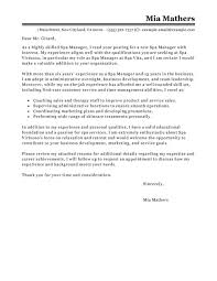 Best Nanny Resume Example Livecareer by Day Spa Manager Cover Letter