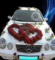 wedding car decoration online and bouquet delivery in