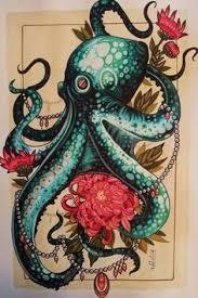 31 best girly octopus tattoo images on pinterest octopus tattoos