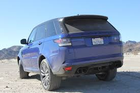range rover sport blue 2016 range rover sport svr long term report 1 of 4