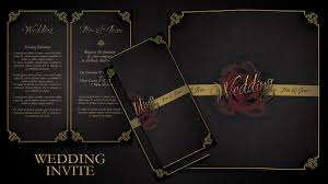 Fancy Wedding Invitation Cards How To Make Simple And Elegant Wedding Invitations In Photoshop