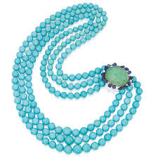 white gold turquoise necklace images Marie poutine 39 s jewels royals turquoise necklaces jpg