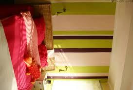 wandgestaltung schlafzimmer streifen asymetrische streifen wand streichen ideen die besten