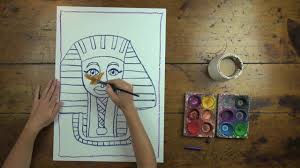 free egyptian mummy art lesson from artventure on vimeo