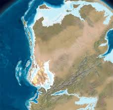 Ice Age Map North America by Map Of Pangea With Current International Borders 1600 1587