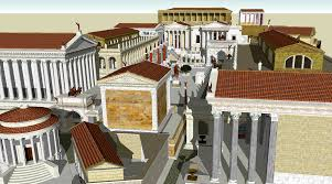 file roman forum sketch up model png wikimedia commons