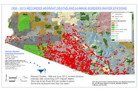 Arizona Spring Training Map by Border Security And Migration A Report From Arizona Wola