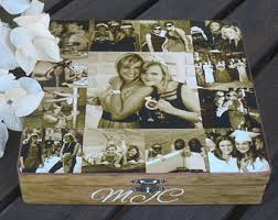 personalized keepsake gifts of honor photo collage keepsake box unique gift