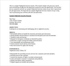security resume professional security officer resume best