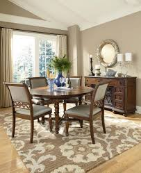 Round Formal Dining Room Tables Dining Room Round Mirror Home Design Ideas