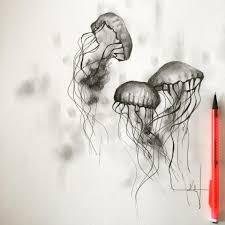 jellyfish art oil painting katy jade dobson