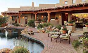arizona style homes pueblo style home with traditional southwestern design