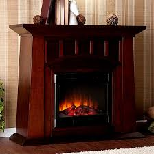 Amish Electric Fireplace Incredible Amish Mission Style Electric Fireplace Pertaining To