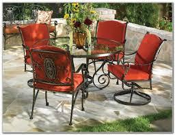 Patio Chair Cushions Cheap Wrought Iron Patio Chair Cushions Patio Furniture Conversation