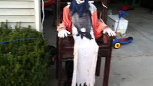 electric chair halloween clown youtube