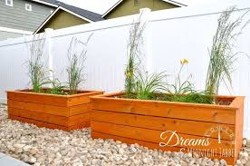 how to build attractive backyard planter boxes hometalk
