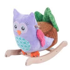 Shipping A Rocking Chair Owlita Violet Owl Rocker Rockabye