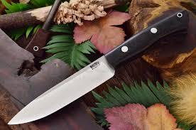 Bark River Kitchen Knives Bark River Knives Ii Fixed 5 625 Cpm 3v Blade Black