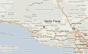 santa california map santa paula location guide