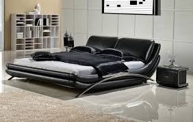 Modern Platform Bed King Modern Low Profile Platform Bed Set