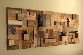 wooden wall decoration with nifty wood wall decor ideas image