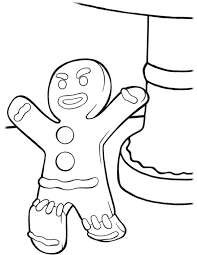 gingerbread men angry colouring colouring tube