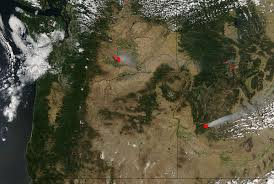 Map Of Fires In Oregon by Nasa Sees Streaming Smoke From Southern California U0027s Alamo Fire Nasa