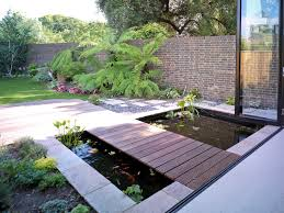 exterior design interesting small backyard pond ideas with water