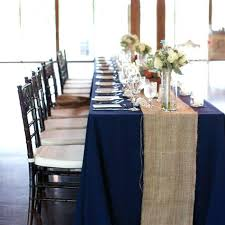 Navy Table L Navy Burlap Table Runner Burlap Table Runner Wedding Table Runner