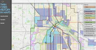 Twin Cities Map Projects U2014 Eric James