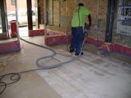 Concrete Floor Repair Repairing A Concrete Floor For A Comdominium Renovation