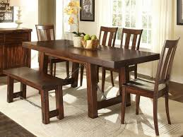 Corner Dining Room Furniture Dining Tables Extraordinary Rectangle Dining Table With Bench