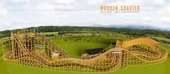 layout land story land to build roar o saurus wooden coaster coaster101
