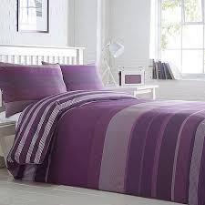 Duvet Covers Debenhams Home Collection Basics Purple Striped U0027stanford U0027 Striped Bedding