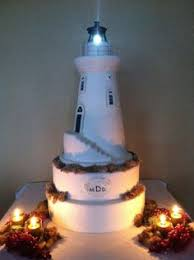 lighthouse cake topper carved light house wedding cake lighthouse cake thesweetdivine