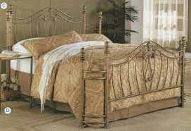Metal Headboard And Footboard Queen Full Size Metal Headboard New Queen Or Full Size Gold Finish
