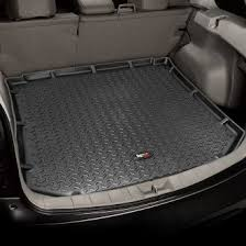 jeep patriot cargo mat jeep liberty cargo liners custom fit rubber vinyl carpet