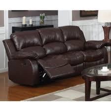 faux leather reclining sofa nice leather reclining sofa rotunda brown faux leather dual