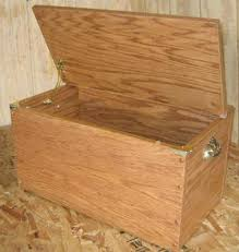 Handcrafted Wooden Toy Box by This Link Also Takes You To Plans For A Hope Chest Or Storage Box