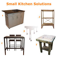 small kitchen solutions u2013 at home with aptdeco