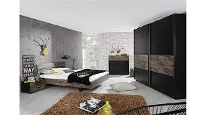 Komplett Schlafzimmer Bett 160 Cm Sumatra Schlafzimmerbett In Vintage Braun 160 Cm