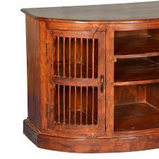Media Center Furniture by Moon Curved Solid Wood Tv Cabinet Media Center